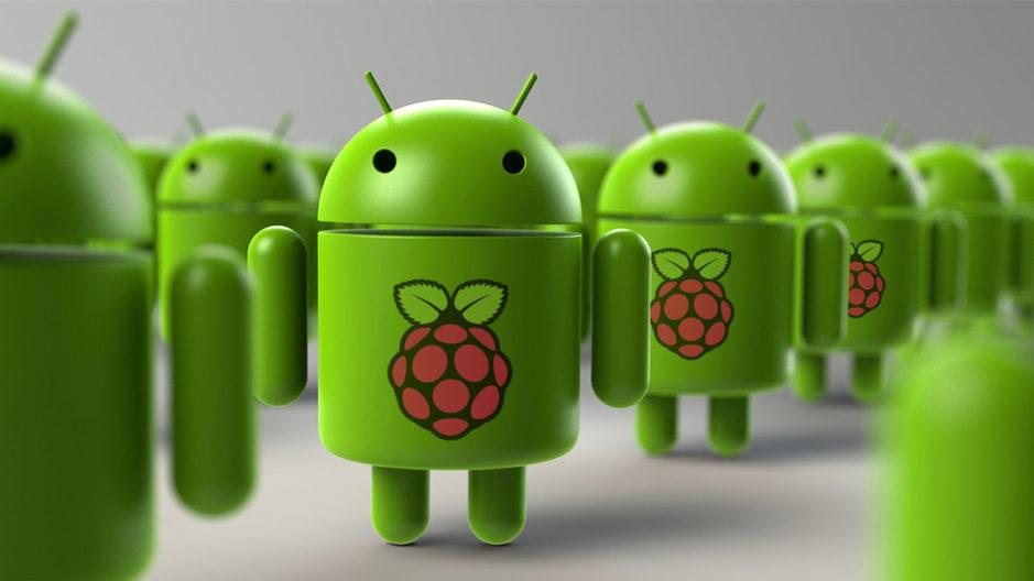 android avec raspberry pi logo